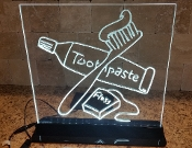 Art:  Toothbrush & Toothpaste Print